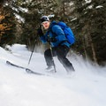 Steep sections on the ski trail down South Doublehead.- 12 North American Mountain Towns Perfect for Winter Adventure