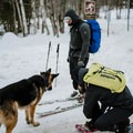 Gearing up to ascend Doublehead Mountain.- 8 Not-To-Be Missed White Mountain Adventures