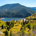 Overlooking Little Maud and Mollie B.- Guide to Camping in Colorado