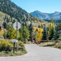 The campground road entrance off of Highway 82.- When and Where Fall Foliage Will Peak This Autumn