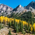 Pyramid Peak's false summit.- A Complete Guide to Colorado's Maroon Bells