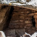 Anasazi granary ruins along Cliff Springs Trail.- Grand Canyon National Park