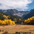Pearl Pass from the end of Castle Creek Road in Colorado.- The Best Leaf-Peeping Adventures for Fall Foliage