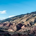 View from the Desert Voices Trail.- Dinosaur National Monument