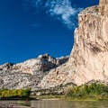 The Green River at the Split Mountain take-out.- Dinosaur National Monument