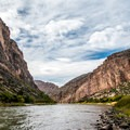 The Green River at Jones Hole.- Dinosaur National Monument