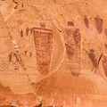 Portion of the Grand Gallery at Horseshoe Canyon.- Canyonland Country: Best Hikes Near Moab