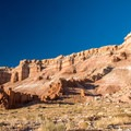 Mesa views on the drive to the Horseshoe Canyon.- Utah's Best Fall Adventures