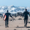 Big wave day at Mavericks.- Stormwatch Outposts Across the West Coast