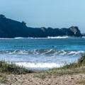 Surfers at Linda Mar/Pacifica State Beach.- California's Best Beaches