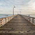 Pier at Cayucos State Beach.- The Best of San Luis Obispo