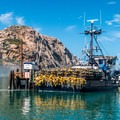 Morro Bay is a working fishing port.- Morro Bay Sea Otter Viewing