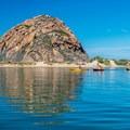 Morro Rock from Morro Bay Harbor.- The Best of San Luis Obispo