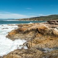 Spectacular coastal scenery along the Bluff Trail Hike near San Luis Obispo.- How to Still Enjoy California's Central Coast this Spring