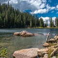 Nolan Lake.- The Rockies' 15 Best Alpine Lakes