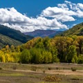 View looking south from the Sylvan Lake visitor center.- 10 Incredible Colorado State Parks