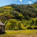 Peterson Cabin near the Meadows Day Use Area in Sylvan Lake State Park.- 30 Spectacular Fall Adventures in Colorado