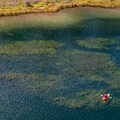 A kayaker enjoys the upper end of Sylvan Lake.- Western State Parks That Will Blow Your Mind