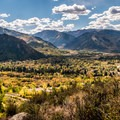 Looking northwest down the Roaring Fork River Valley.- 30 Spectacular Fall Adventures in Colorado