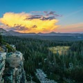 Looking out over Rock Creek Basin, a beautiful and remote region of the Uintas.- Mirror Lake Scenic Highway