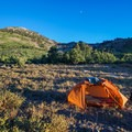 Smith Creek campsite.- Ruby Mountains Wilderness