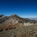 Ascending the pass before Overland Lake on the Ruby Crest Trail.- Adventure Outside of Your State