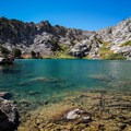 Overland Lake along the Ruby Crest Trail.- Ruby Mountains Wilderness
