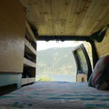 A room with a view. - Living the Van Life as a Solo Female
