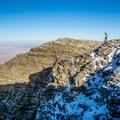 Wheeler Peak, elevation 13,159 feet, inside Great Basin National Park, is one of the highest peaks in the state of Nevada. - Adventuring across Nevada's Highway 50