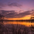 Stunning sunset over Lake Bruin. - Adventurer's Guide to Central Louisiana