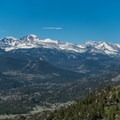 Longs Peak from Lumpy Ridge.- 10-mile Hikes You Can't Miss