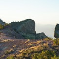 Walking the bare ridgeline on Lost Mine Peak.- 3-Day Adventure Itinerary in Big Bend National Park
