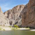 Boquillas Canyon of the Rio Grande.- Big Bend National Park