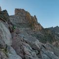 The Ledges.- Longs Peak: Keyhole Route