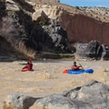 Packrafters and a kayaker on the Colorado River in Utah.- 5 Trending Adventures to Try in 2019