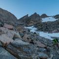 The Trough.- Longs Peak: Keyhole Route