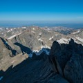 Top of the Trough.- Longs Peak: Keyhole Route