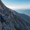 The Narrows.- Longs Peak: Keyhole Route