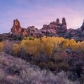 Salt Creek at sunset.- The 8 Best Hikes in Canyonlands National Park