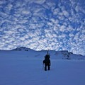 Boot pack ascent of the West Face of Mount Shasta.- 20 Photos That Will Make You Excited for Winter