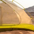 Marmot Tungsten UL, featuring pre-bent poles for better volume and verticality.- Gear Review: 5 Best Backpacking Tents of 2018