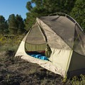 Waking up to a beautiful morning in the Mountainsmith Vasquez Peak 2.- Gear Review: 5 Best Backpacking Tents of 2018