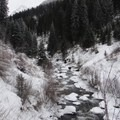 The West Fork of the Wallowa River on the way to Ice Lake.- 10 Amazing Snowshoe Trails in Oregon