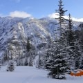 Camp at 6,800 feet near Ice Lake.- 10 Amazing Snowshoe Trails in Oregon