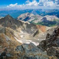 Looking east over the San Juans from the summit of Mount Wilson.- A 3-Day Adventure Itinerary in Telluride, Colorado