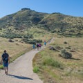 The summit of Table Rock is clearly visible throughout the hike due to short grasses and sagebrush in the area.- 13 Epic Microadventures Near Boise