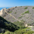 View from the Ho Chi Minh Trailhead.- Southern California's Best Beaches