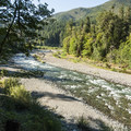 Elwha River.- Elwha Valley:  A River In Transition