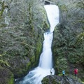 Bridal Veil Falls.- Columbia River Gorge National Scenic Area