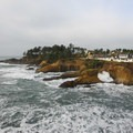 Headlands on the northern end of Depoe Bay State Wayside.- Must-See Oregon Coast State Parks